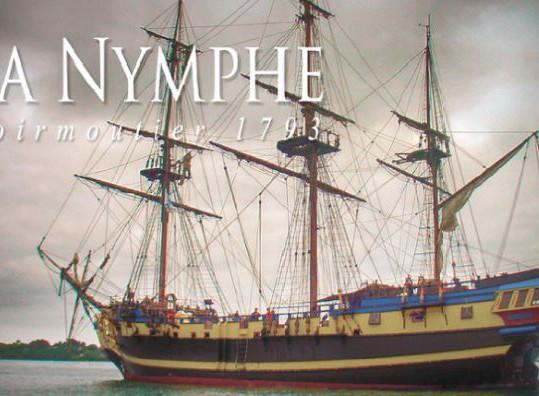 Conférence le 9 décembre 2016 sur le naufrage de la frégate «La Nymphe» le 30 décembre 1793