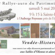 13ème Rallye-auto du Patrimoine